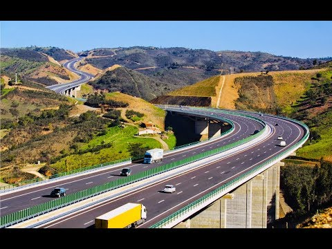 Beautiful Highway of Portugal