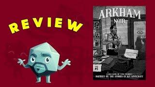 Arkham Noir Review - with Zee Garcia
