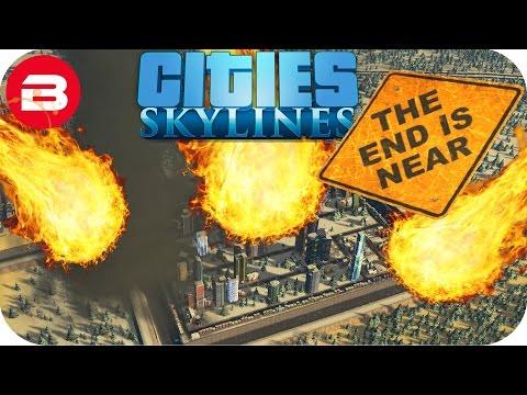 Cities Skylines Gameplay: TOTAL CITY DESTRUCTION Cities: Skylines Natural Disasters Scenario FINALE
