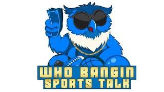 Sports Betting Parlay Strategy | NCAAF | NFL | NCAAB NBA | Who Bangin Sports Talk  Lounge show #4