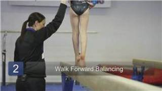 Gymnastics : How to Walk on the Balance Beam