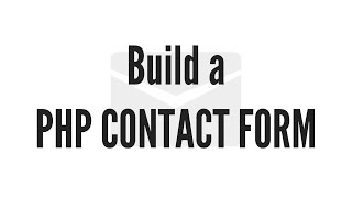 Build a PHP Contact form.