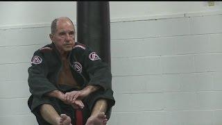 74-year old earns black-belt