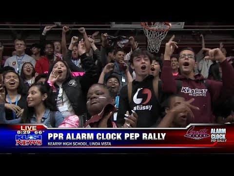 Week 8 Alarm Clock Pep Rally: Kearny High School