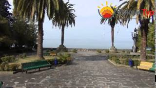 jamtour.org санаторий Амра (Гагра, Абхазия) выход к морю(Один из самых красивых санаториев Гагр и всей Абхазии -- это «Амра». Он построен в старой части курорта, благ..., 2014-05-25T02:33:53.000Z)