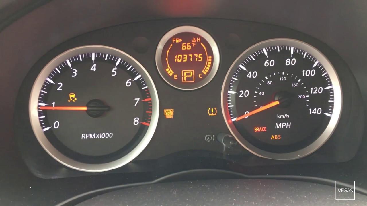 Nissan Sentra Altima P Speedometer Quits Working