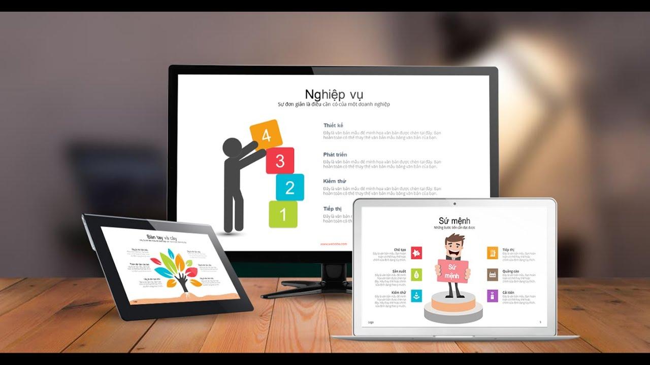 Tải 2400 slide PowerPoint mẫu Kinh Doanh Thắng Lợi đẹp tươi tắn
