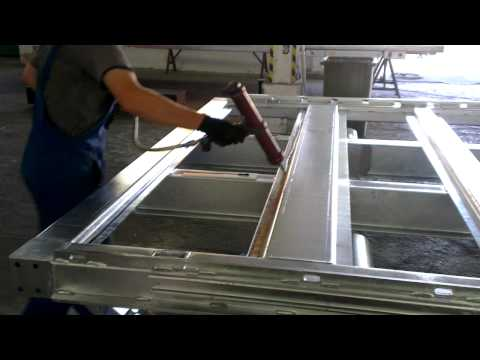 видео: Сборка пола фургона 3