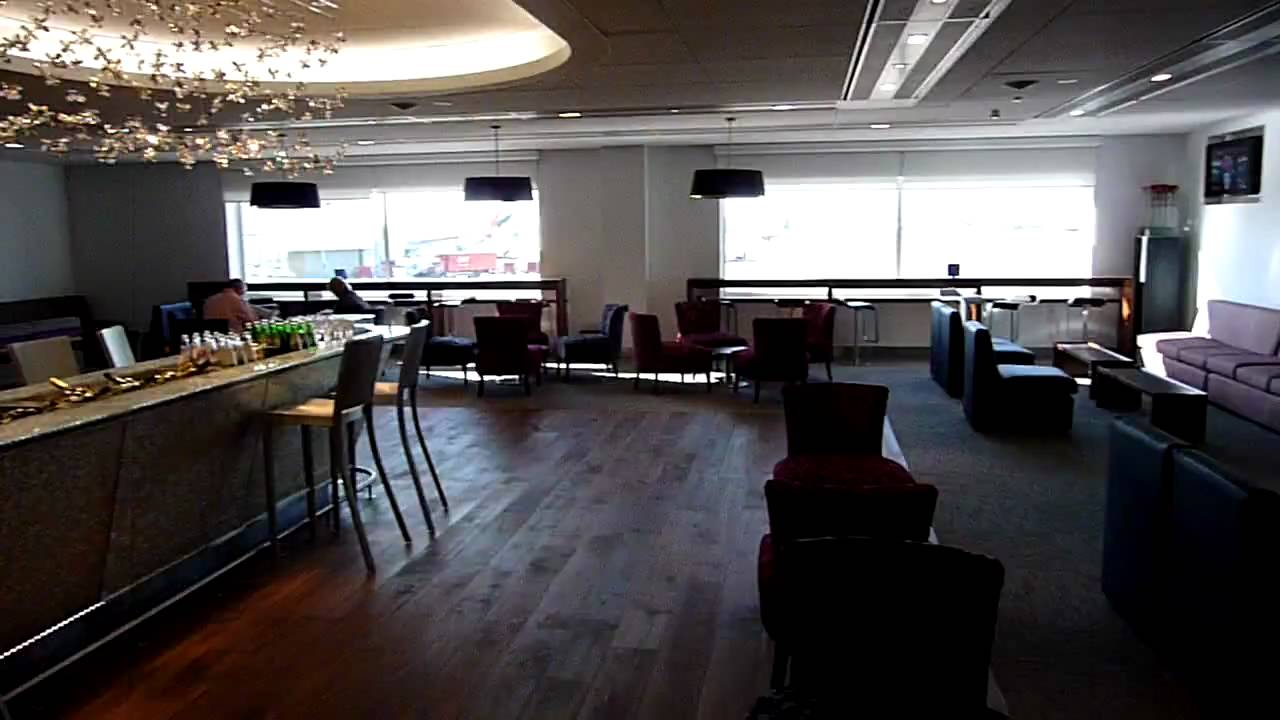 Ba Lounge Terminal 3 >> BA Galleries Club Lounge in LHR T3 - YouTube