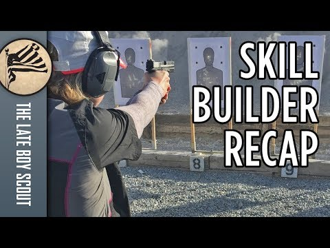 2-Day Handgun Skill Builder Recap: Mrs Scout at Front Sight