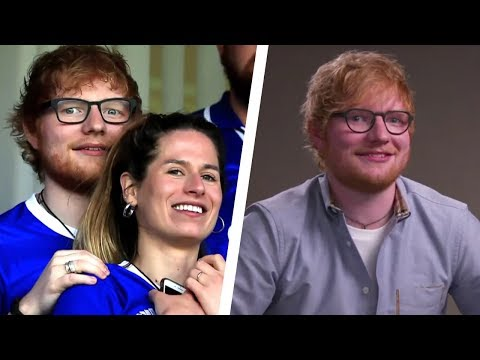 Pat McMahon - Ed Sheeran Confirms He is Married - Hollywood Headlines