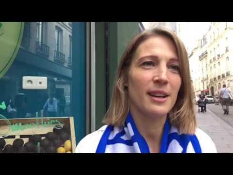 Euro 2016: Eva Yr Gunnarsdottir, gérante du Lemon Iceland, lieu de ralliement des supporters island