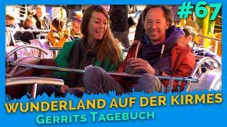 Kirmes: Achterbahn, Top Spin, Free Fall Tower, Schiffschaukel - Gerrits Tagebuch #67