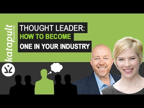 Thought Leader: How To Become One In Your Industry With Elizabeth Marshall [Webcast #36]
