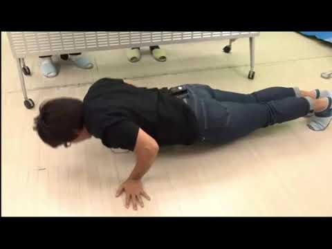 佐藤拓也の胸筋トレーニング
