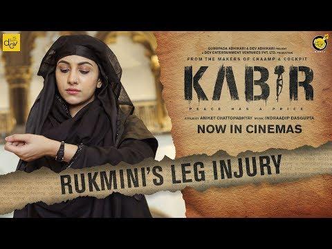 Rukmini Maitra's Leg Injury While KABIR Shooting   KABIR Running Successfully at Cinemas Near You