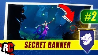 Secret Banner Location WEEK 2 Fortnite | Season 6 Hunting Party (Secret Battle Stars/Banners)