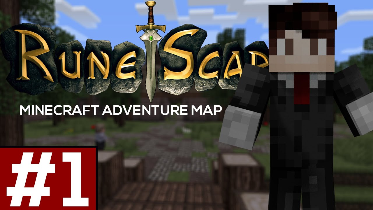 Minecraft: Gielinor   A Runescape Adventure Map EP 1 (Minecraft Adventure  Map)