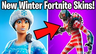 *NEW* RANKING 14 NEW WINTER/CHRISTMAS FORTNITE SKINS!