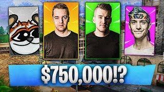 TURNIEJ W FORTNITE Z PULĄ NAGRÓD $750,000!?