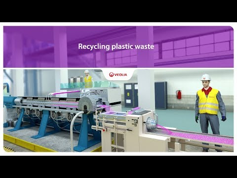 Recycling plastic waste | Veolia