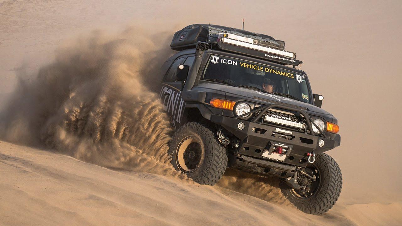 ICON Vehicle Dynamics 2015 Toyota Compilation