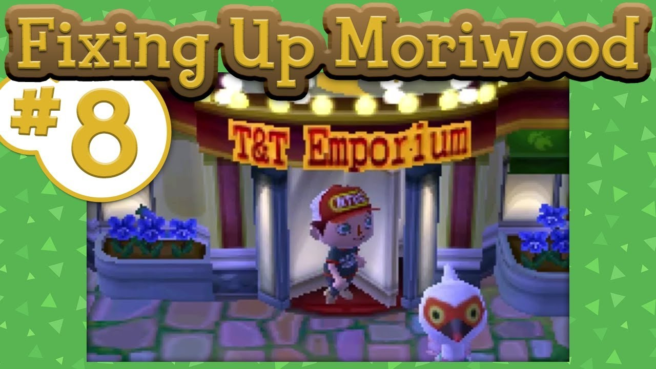 Animal Crossing New Leaf Fixing Up Moriwood 08 Running Through Hybrids