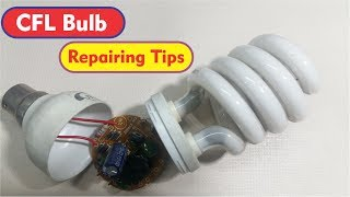CFL Bulb - Energy Saver Repair at Home