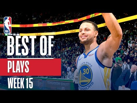 NBA's Best Plays | Week 15