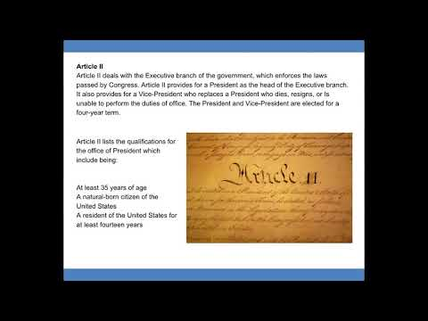The Ogburn School   American Government Lesson 04
