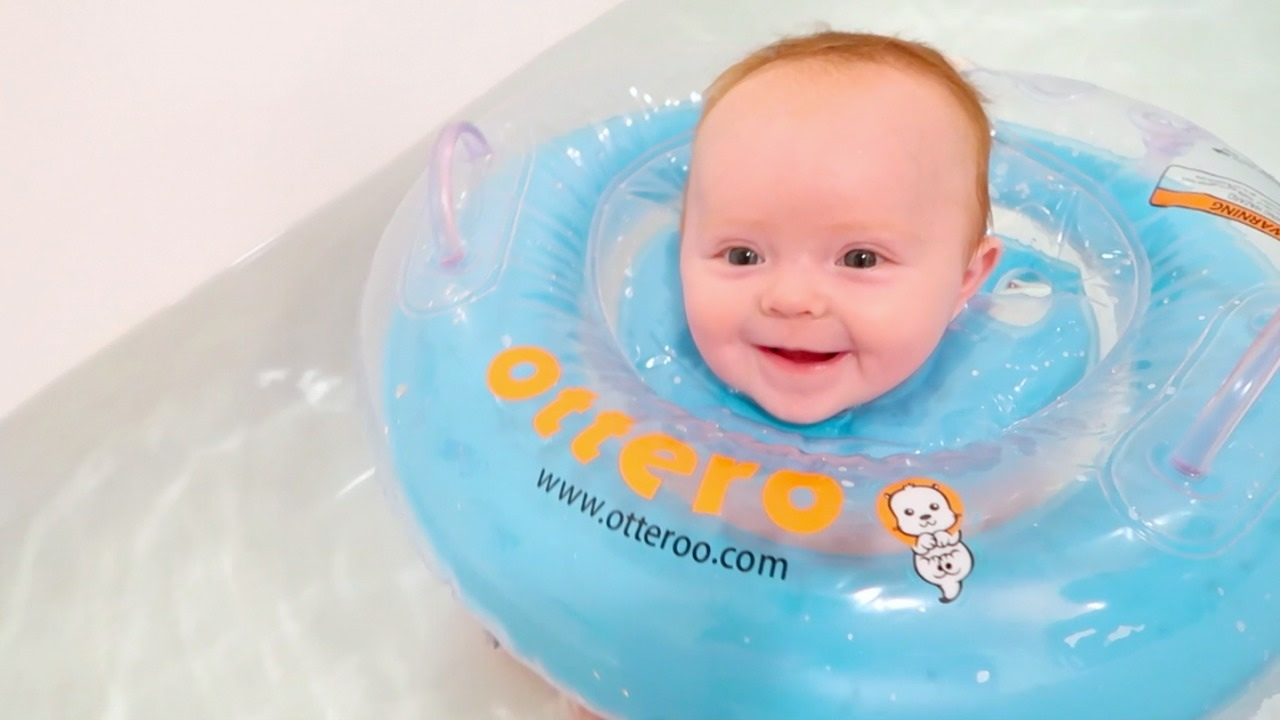 BABY NECK FLOAT! - YouTube
