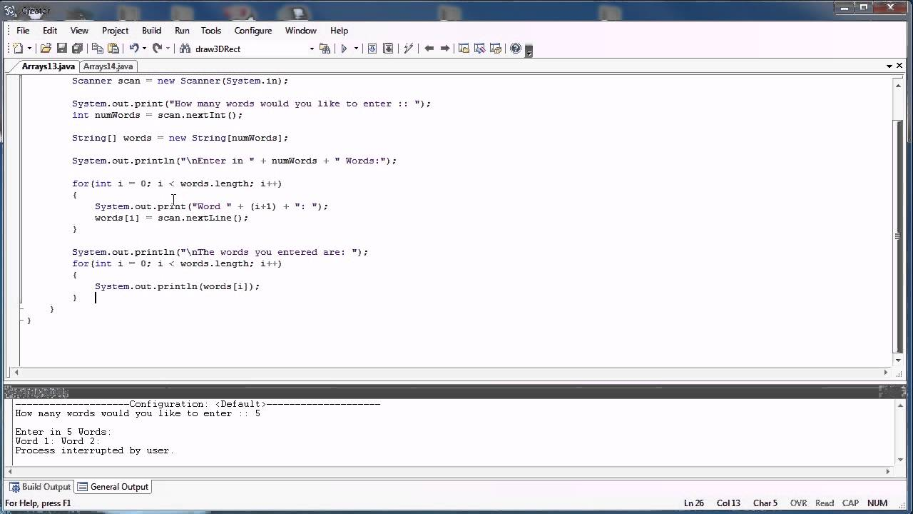 How to take char input using scanner class in java youtube.