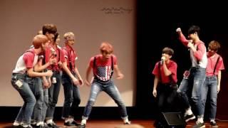 160716 합정 팬사인회 (Hapjeong Fansign) Krump Dance (Seungkwan focus)