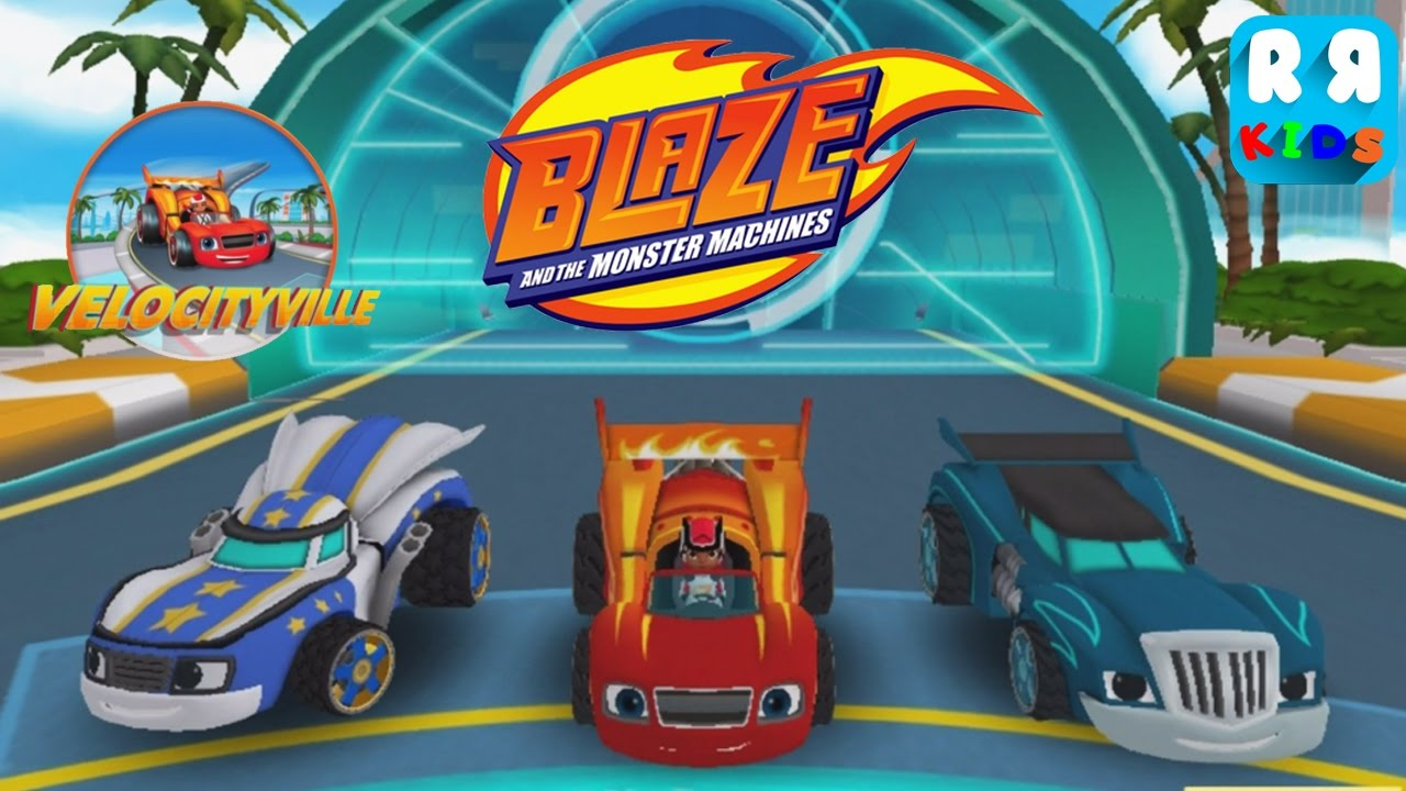 Blaze And The Monster Machines Vellocity Track 6 10