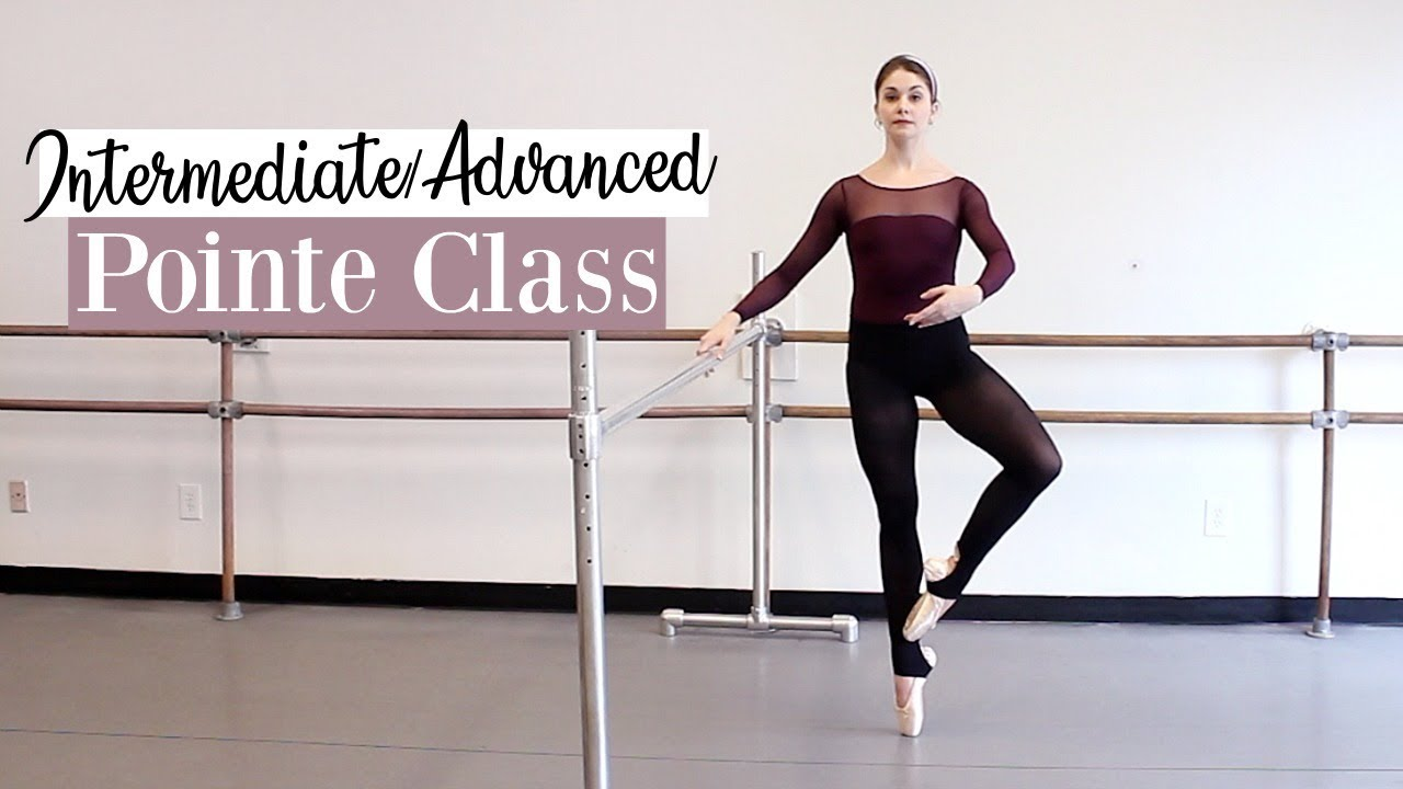 156f523f8 Intermediate/Advanced Pointe Class | Kathryn Morgan - YouTube