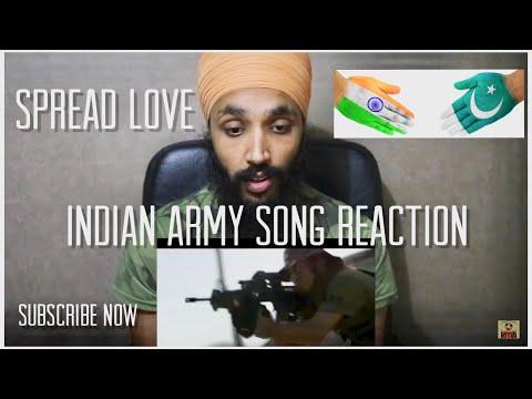 MAI HOON | Indian Army Song Reaction