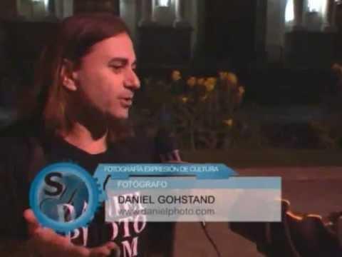Daniel Gohstand on Salud y Vida Guatemala television program
