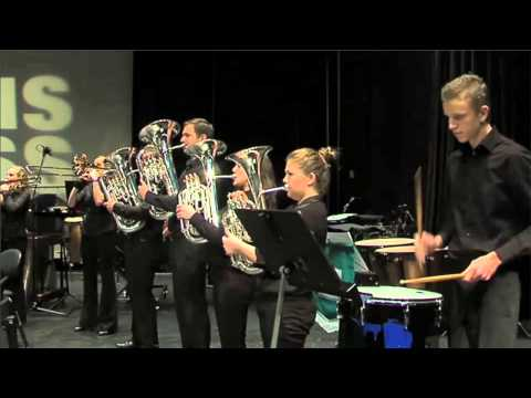 Kleppe Musikklag - The Earl of Oxford March - Siddis Brass 2011