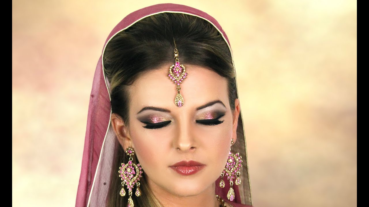 Yellow dress makeup pakistani