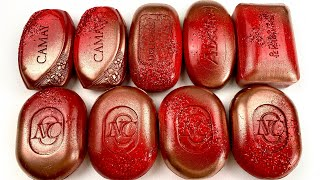 Red set  Soap Carving ASMR ! Relaxing Sounds ! (no talking) Satisfying ASMR Video
