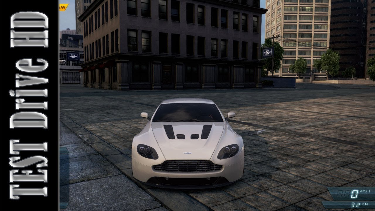 Aston Martin V12 Vantage Need For Speed Most Wanted 2012 Test
