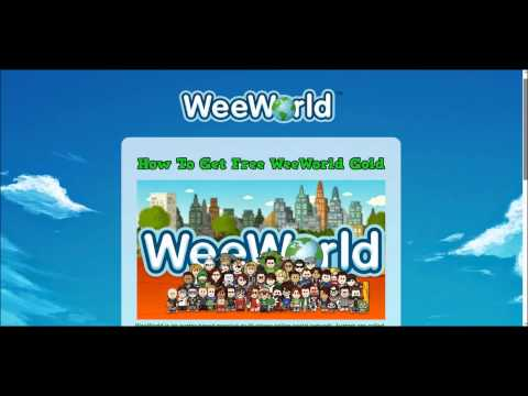 How To Get Free Gold On WeeWorld