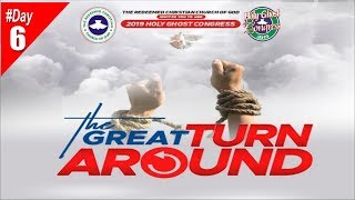 RCCG 2019 HOLY GHOST CONGRESS #Day6- Evening