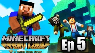 Minecraft: STORY MODE Episode 5 - Order Up! (Minecraft Roleplay)