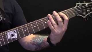Existence Is Punishment Guitar Tutorial by Crowbar