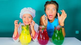 Повар Эмилюша готовит Лимонад из сока Воздушных шариков на Сказочной кухне