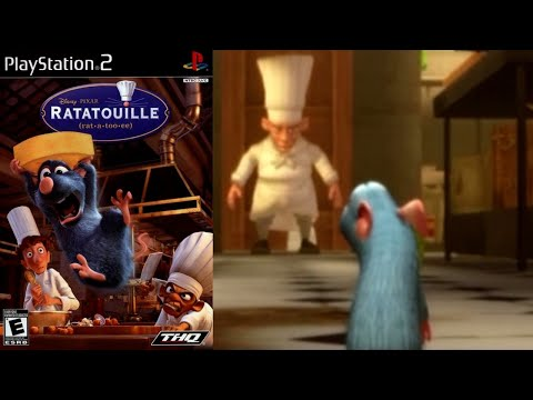 ratatouille walkthrough part 1 the movie game ps3
