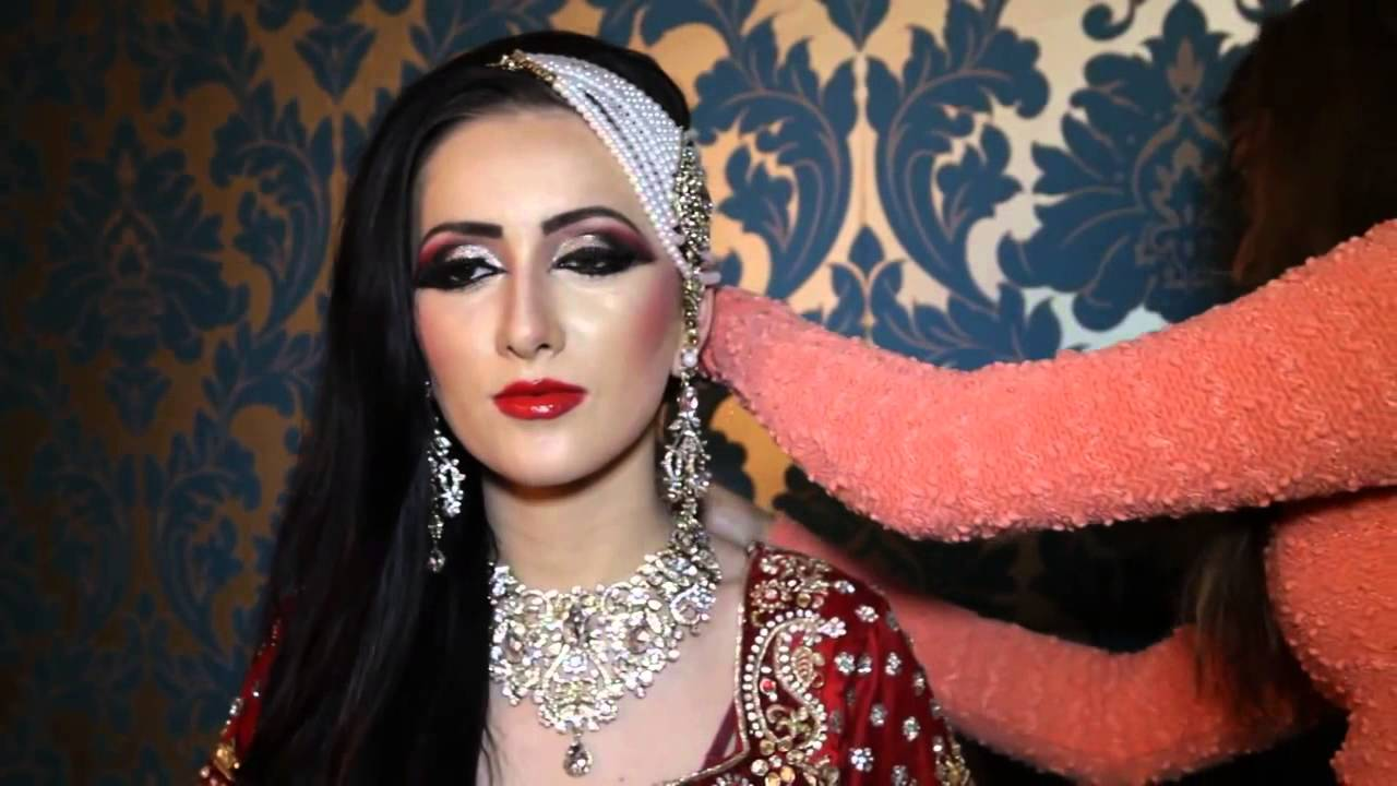 Asian Bridal Makeup Tutorial By Madeeha