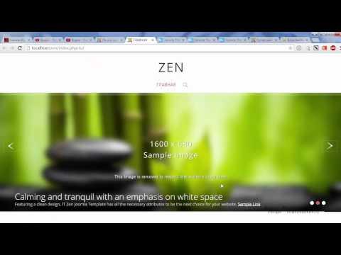 Не работает шаблон ZEN на Joomla!?  Вылечим!