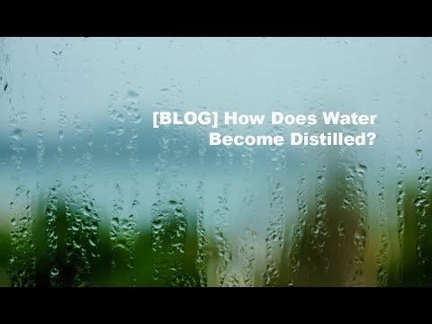 How Does Water Become Distilled? Frank Mendez and Dr David Williamson